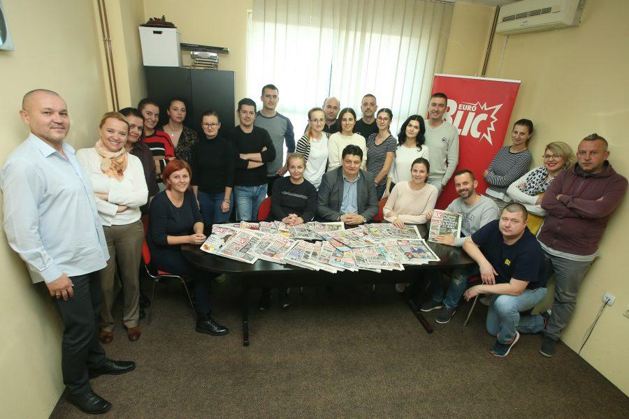 """DVIJE DECENIJE BORBE ZA BOLJU SRPSKU """"EuroBlic"""" danas slavi 20. rođendan"""