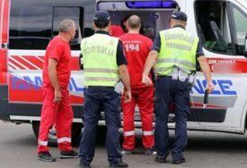 Četiri osobe povrijeđene: Vozilo Hitne pomoći imalo udes