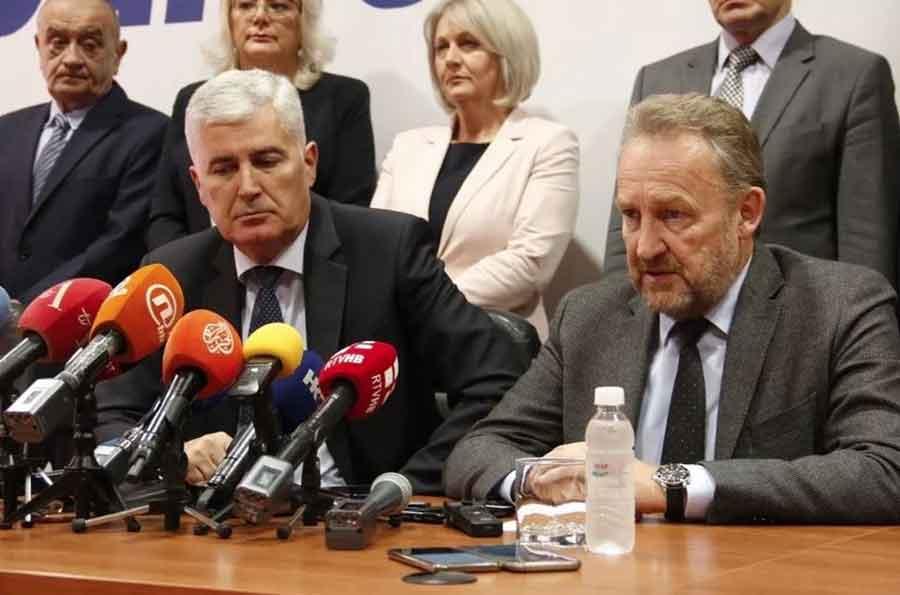"""""""NOVI KORAK KA OPTIMIZMU"""" Čović i Izetbegović opet bez dogovora o formiranju vlasti"""