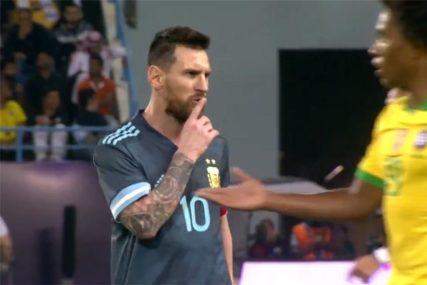 FRCALE VARNICE NA DERBIJU Mesi usred utakmice STAO i selektoru poručio da UMUKNE (VIDEO)