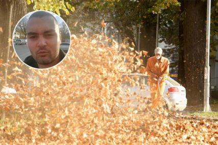 MOJA BANJALUKA Ljubo Topić: Očistiti lišće
