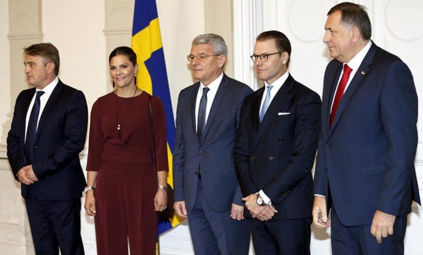 NAPETO NA SASTANKU Komšić i Džaferović napali Handkea pred princezom, Dodik se usprotivio