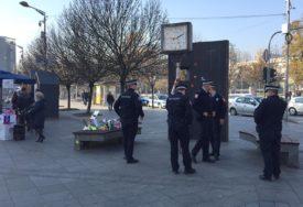 """POLICIJA SPRIJEČILA PERFORMANS Uhapšen lider """"ReStarta"""" Stefan Blagić (FOTO)"""