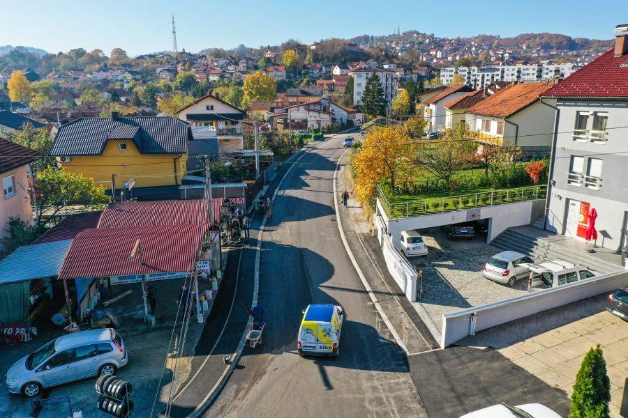 Bolja povezanost Lauša i Zapadnog tranzita, obnovljena Ulica Momčila Popovića