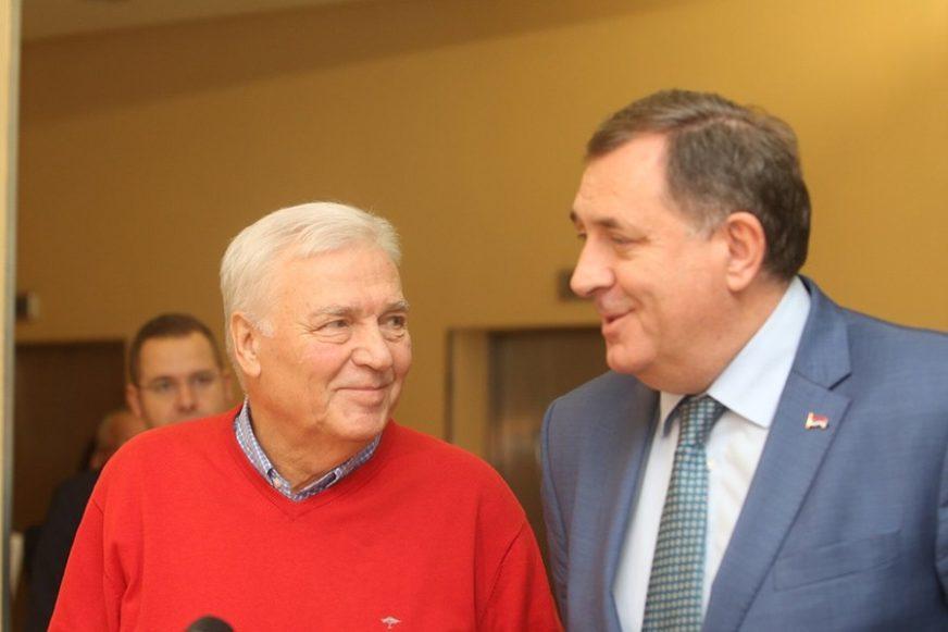 """DODIK I PAVIĆ SE DOGOVORILI """"Koalicija nastavlja djelovanje jer je potrebna stabilnost"""""""