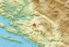 GRAĐANE PROBUDIO POTRES Zemljotres ponovo pogodio BiH, epicentar ponovo kod Nevesinja