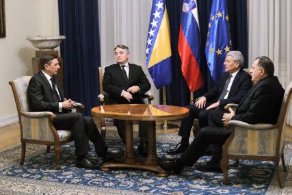 Da li Evropa razmišlja o PODJELI BiH: Pahor unio pometnju među članove Predsjedništva