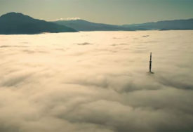 KAPA NAD GRADOM Sarajevo se guši u sablasnim oblacima smoga (FOTO, VIDEO)