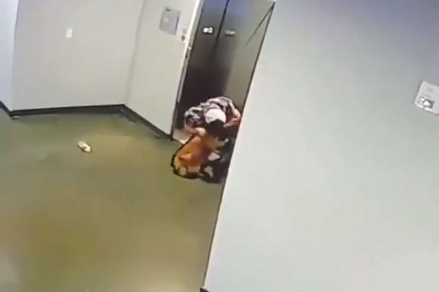 Sekunde su ga dijelile od SMRTI, a onda se pojavio ovaj BRIŽNI HEROJ (VIDEO)