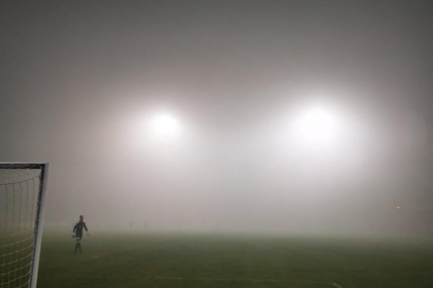 ŠOU NA TERENU Od magle se ništa nije vidjelo, ali se igralo (FOTO)