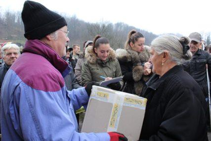 DONACIJA NJEMAČKE ORGANIZACIJE Podijeljeno 450 paketa za socijalno-ugrožene stanovnike Lopara