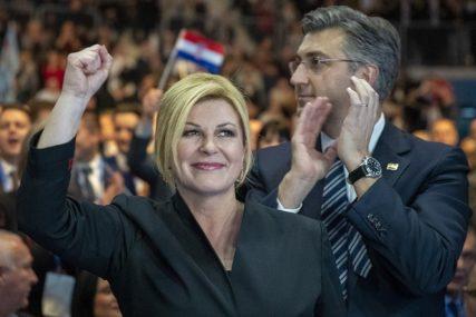 UBJEDLJIV BROJ GLASOVA ZA KOLINDU Hrvati iz BiH nisu imali nikakvu dilemu na izborima