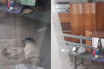 POLICIJA MONSTRUMU ZA PETAMA Ovo je KUĆA UŽASA u kojoj je berberin držao Moniku (VIDEO, FOTO)