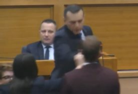 INCIDENT U PARLAMENTU Lukač nasrnuo na Stanivukovića (VIDEO)