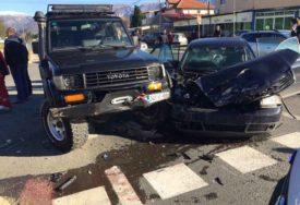 """SUDAR """"TOJOTE"""" I """"AUDIJA"""" Četiri osobe povrijeđene u nesreći kod Mostara"""