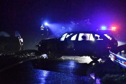 UDES KOD ŽEPČA U sudaru dva automobila povrijeđene tri osobe