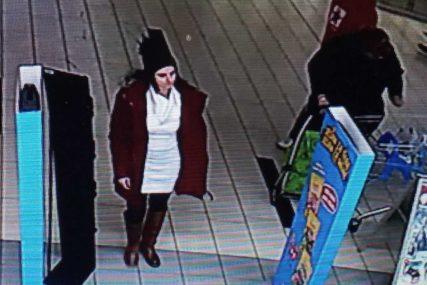 DA LI STE JE VIDJELI Policija na nogama zbog žene koja je prisvojila novčanik u Banjaluci