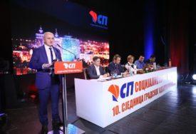 Sjednica Gradskog odbora SP: Jača saradnja Beograda i Banjaluke