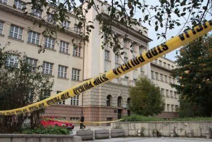 PANIKA U SARAJEVU Policija na nogama, evakuisana srednja škola zbog dojave o BOMBI