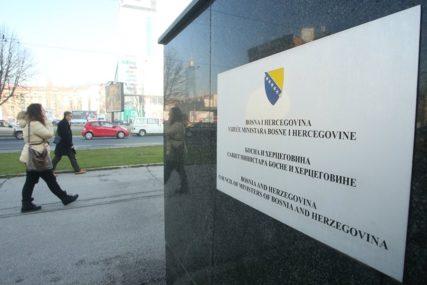 ZAHTJEV OPOZICIONIH STRANAKA Izjašnjavanje o povjerenju Savjetu ministara BiH
