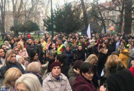 NE ODUSTAJU OD SVOJIH ZAHTJEVA Počeli protesti zdravstvenih radnika u Kantonu Sarajevo