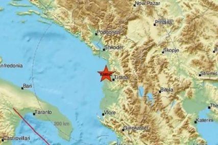 TLO NAM I DALJE PRIJETI Još jedan zemljotres potresao Albaniju