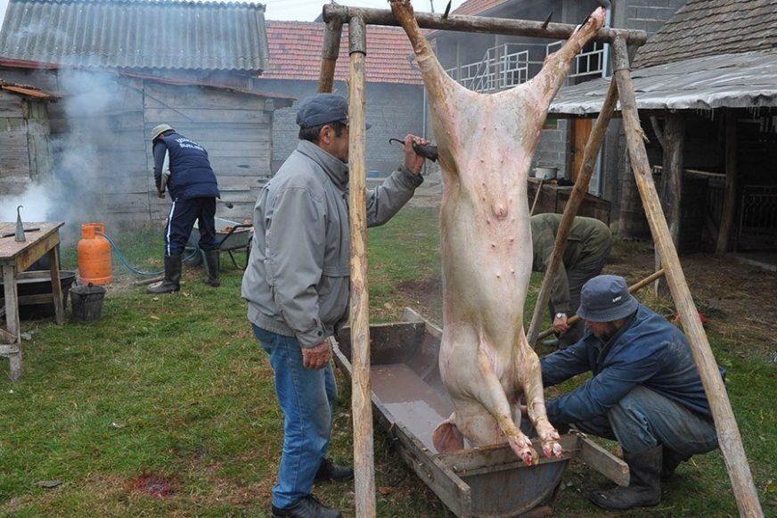 ZA 8 MARAKA MIRNA SAVJEST Semberci spremaju meso za sušenje