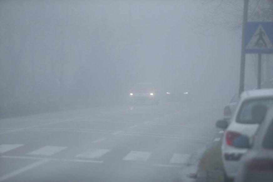 NA VISINAMA POLEDICA Vozite oprezno, kolovozi vlažni i magloviti