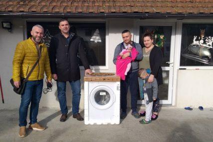 DONACIJA ZA PRAZNIKE Veš mašine za višečlane porodice u Brčkom