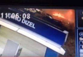 STRAVIČNO Objavljen SNIMAK EKSPLOZIJE pumpe kod Zvornika (VIDEO)