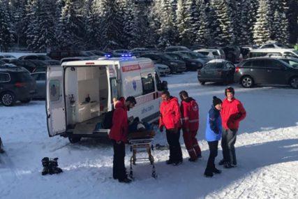NESREĆA NA RAVNOJ GORI Skijaš pao i zadobio teške povrede