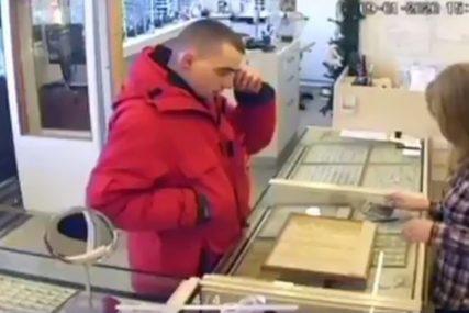 SMOTANI LOPOV Pokušao je da opljačka zlataru, a onda je SVE POŠLO NAOPAKO (VIDEO)