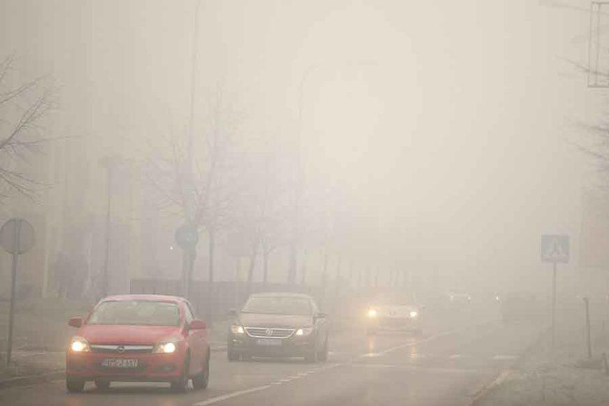 BUDITE NA OPREZU! U kotlinama smanjena vidljivost zbog magle