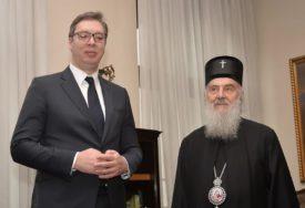 ZAVRŠEN SASTANAK SA PATRIJARHOM Predsjednik Srbije se danas obraća javnosti