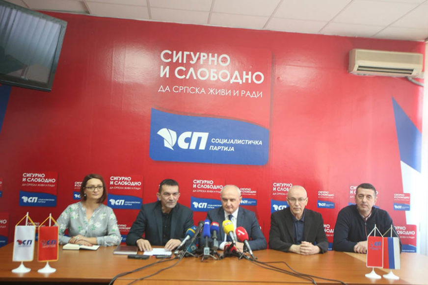 """DA LI SE KLIMA """"VIDOVDANSKA KOALICIJA"""" Socijalisti odlučuju o nastavku podrške Radojičiću"""