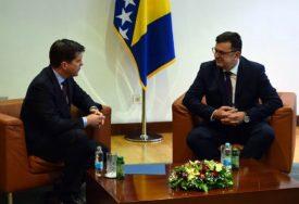 SASTANAK TEGELTIJE I NELSONA Iskazali zajednički stav o neophodnosti usvajanja budžeta institucija BiH