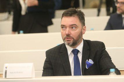 """Košarac odgovorio Šaroviću """"Predsjednik SDS opet opisuje sopstveno političko djelovanje"""""""