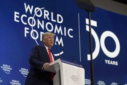 Tramp DRŽI GOVOR u Davosu: Kina bila nepravedna prema SAD dok NISAM JA DOŠAO