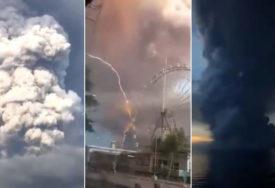 VULKAN IZBACUJE LAVU Erupcija moguća za NEKOLIKO SATI, evakuacija pola miliona ljudi (VIDEO)