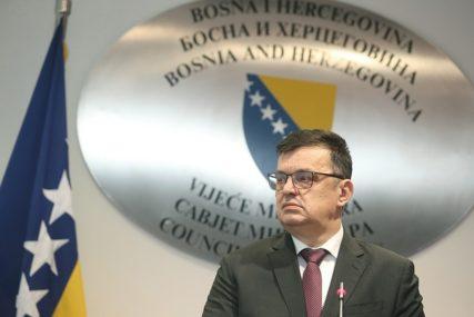NISU SPREMNI ZA RASPODJELU Tegeltija: Dogovoreno više od 700 miliona evra pomoći BiH