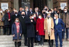 ZABRINUTOST ZBOG VAZDUHA Ambasadori s maskama na licu ukazali na alarmantnu situaciju (FOTO)
