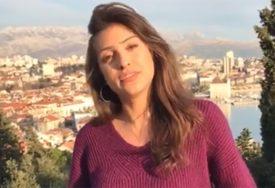 NIJE NI SLUTILA ŠTA SE DEŠAVA Djevojka u Splitu se snimala, a onda se čuo RAFAL (VIDEO)