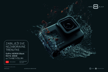 Zabilježite sve NEZABORAVNE TRENUTKE sa GoPro HERO8 Black kamerom