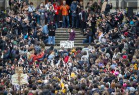 MASOVNI PROTEST Greta Tunberg poručila svjetskim liderima: Još niste vidjeli ništa, dolazimo u Davos