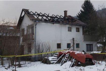 CRNE SLUTNJE SE OBISTINILE U požaru u porodičnoj kući stradala žena