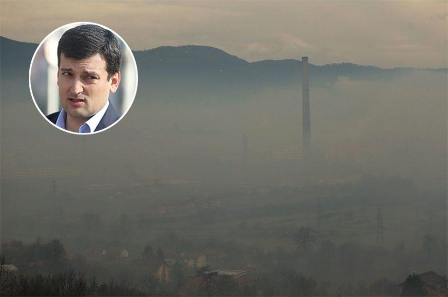 MOJA BANJALUKA Davor Šešić: Zagađenost vazduha nemoguće negirati