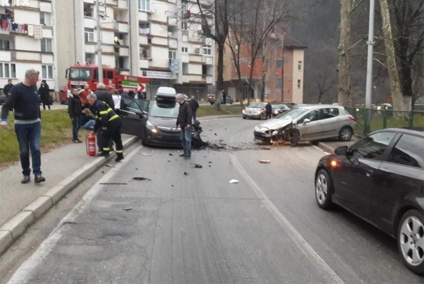 PRIČINJENA VEĆA MATERIJALNA ŠTETA Normalizovan saobraćaj na putu Jablanica-Konjic