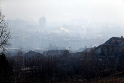 """BANJALUKA """"NESTALA"""" SA SATELITA Jorgan od magle i smoga pokrio grad"""