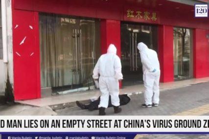 JEZIVO Ovaj snimak prikazuje sav užas koji vlada u Kini zbog KORONAVIRUSA (VIDEO)