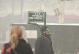 """UKINUTA EPIZODA """"UPOZORENJE"""" U Sarajevu smanjena koncentracija zagađujućih materija u vazduhu"""
